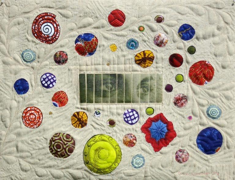 Art Textile-Carmen Amezaga-Univers, Au delà des barreaux