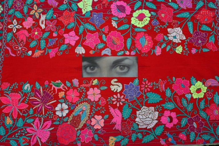 Art Textile-Carmen Amezaga-Univers, Jardin de paradis
