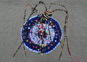 Art Textile-Carmen Amezaga-Univers, La peur ou l'amour