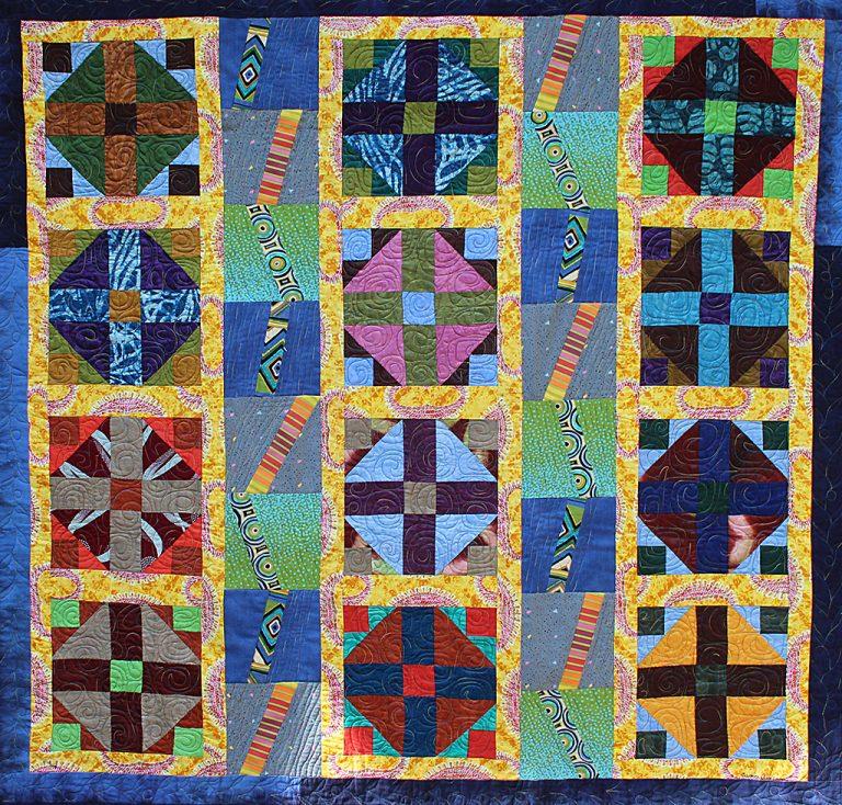 Art Textile - Carmen Amezaga - Afrique, Chemin de lumiere