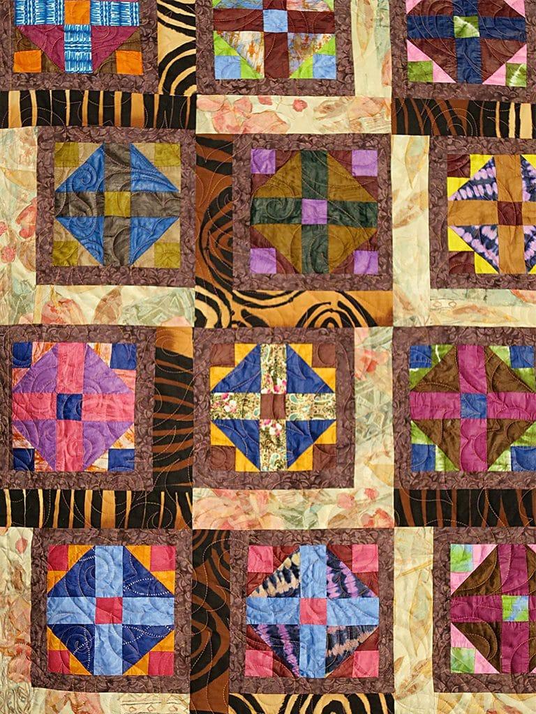 Art textil, Carmen Amézaga, creations-Afrique-délicatesse