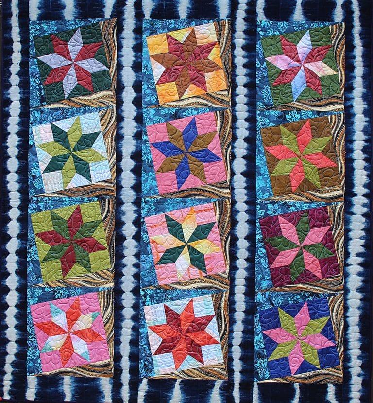 Art Textile - Carmen Amezaga - Afrique, eau