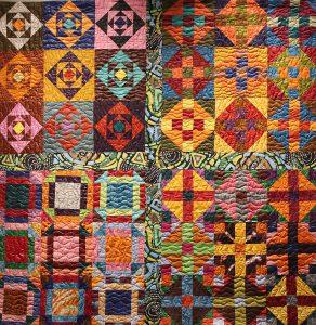 Art Textile - Carmen Amezaga-Afrique, et la lumière fut