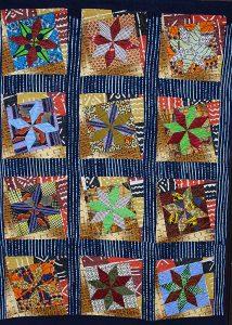 Carmen Amézaga - Textile Art-Afrique-etoiles-mouvement