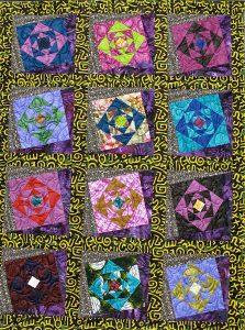 Art textil, Carmen Amézaga, creations-Afrique-rêve et espérance