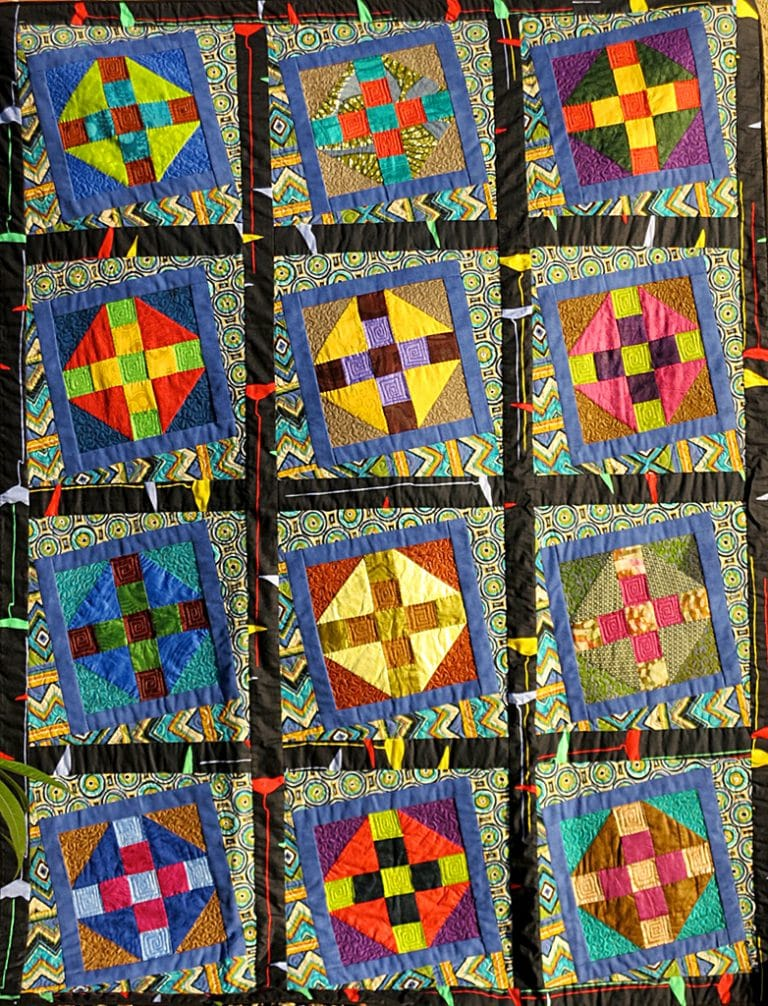 Art Textile - Carmen Amezaga-Afrique, pluie d'été