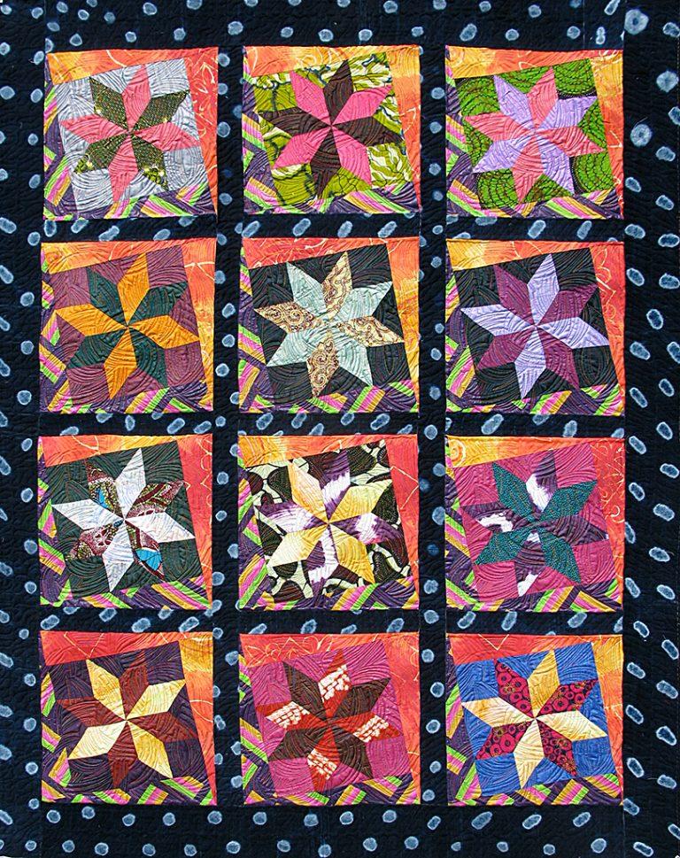 Art textil, Carmen Amézaga, creations-Afrique-retour de Mopti