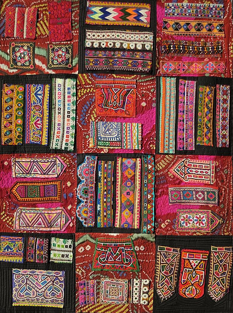 Art textil, Carmen Amézaga, creations-Asie-Inde d'hier et d'aujourd'hui