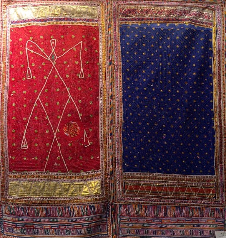 Art textil, Carmen Amézaga, creations-Asie-trésor d'Inde