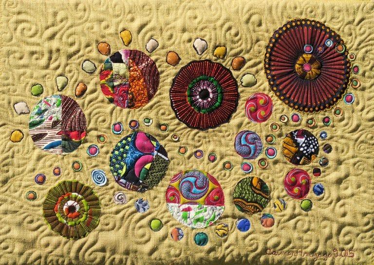 Art textil, Carmen Amézaga, Univers-caminante-no-hay-camino