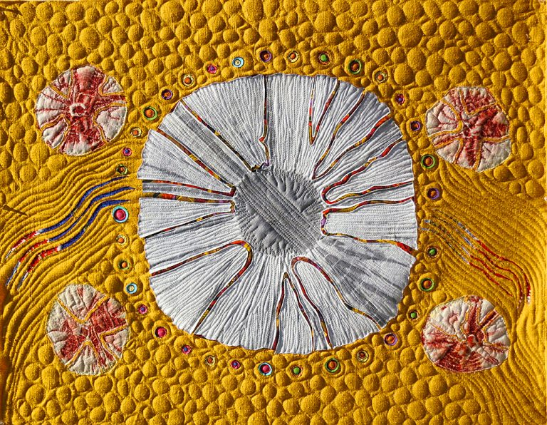 Art Textile-Carmen Amezaga-Univers, eclaté