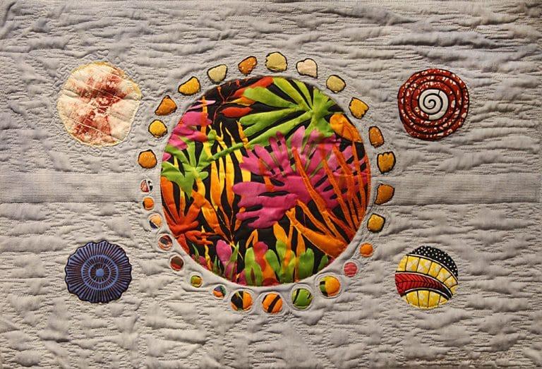 Art textil, Carmen Amézaga, creations-Univers-l'entree secrete