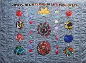 Art textil, Carmen Amézaga, creations-Univers-eveil