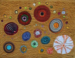 Art Textile-Carmen Amezaga-Univers, Harmonie d'acccords et d'esprit
