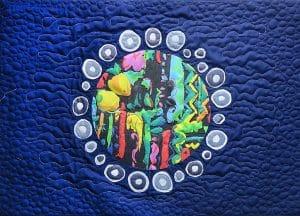 Art textil, Carmen Amézaga, creations-Univers-planete des dechets