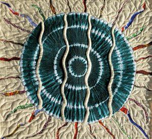 Art Textile-Carmen Amezaga, Planète verte