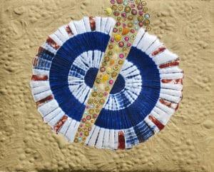 Art Textile-Carmen Amezaga-Univers, Corne d'abondance