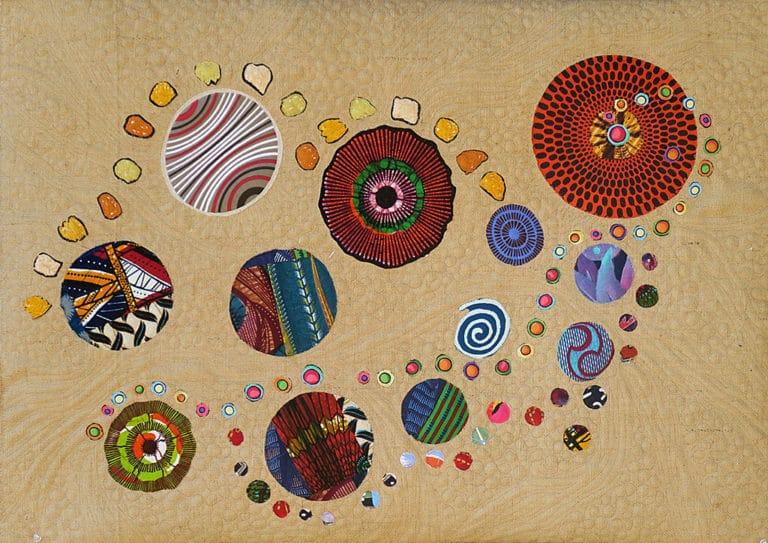 Art Textile-Carmen Amezaga-Univers, Caminante no hay camino 2