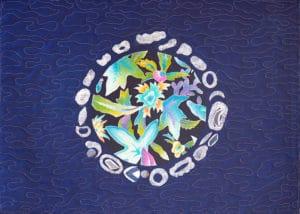 Art Textile-Carmen Amezaga-Univers, Planète de déchets 2