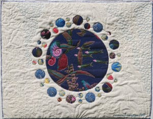 Art Textile-Carmen Amezaga-Univers, Eau